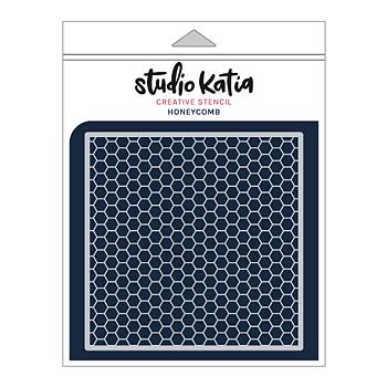 STUDIO KATIA-HONEYCOMB STENCIL