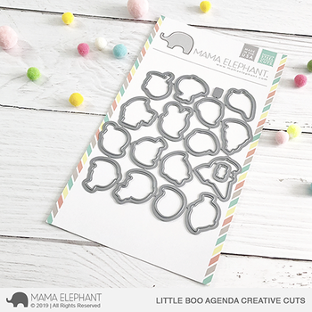 MAMA ELEPHANT -LITTLE BOO AGENDA CREATIVE CUTS