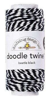 DOODLEBUG - Doodle Twine- Beetle Black