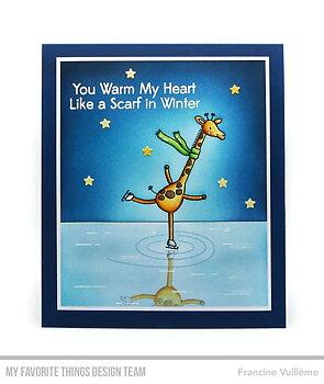MY FAVORITE THINGS -Giraffes on Ice