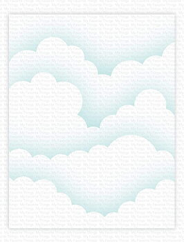 MY FAVORITE THINGS -Rolling Clouds Stencil