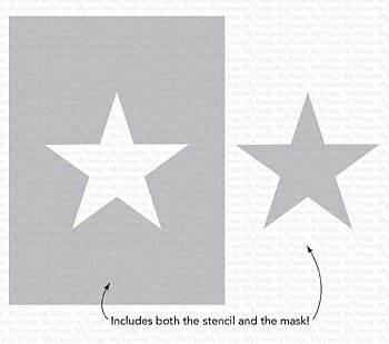 MY FAVORITE THINGS -Star Extraordinaire Stencil