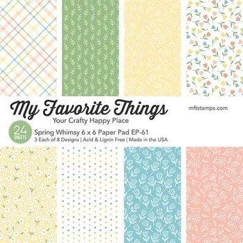 MY FAVORITE THINGS -Spring Whimsy Paper Pack