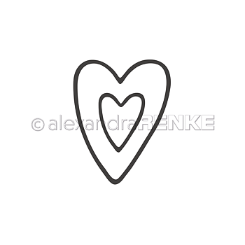 ALEXANDRA RENKE -Die 'Two heart frames'