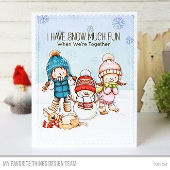 MY FAVORITE THINGS -BB Snow Buddies Die-namics