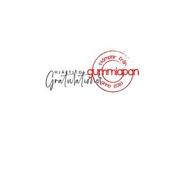 GUMMIAPAN -Hjärtliga Gratulationer 20020108