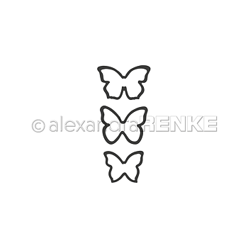 ALEXANDRA RENKE-Dies 'Small butterflies'