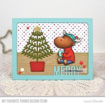 MY FAVORITE THINGS -BB Merry Christmoose Die-namics