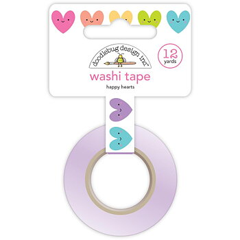 DOODLEBUG   WASHI TAPE-HAPPY HART