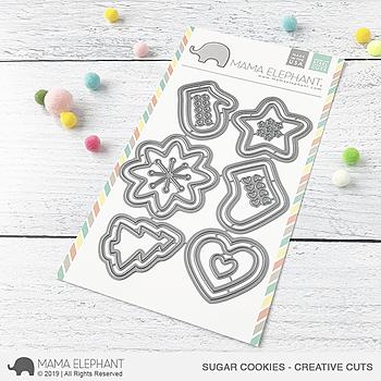 MAMA ELEPHANT-SUGAR COOKIES - CREATIVE CUTS