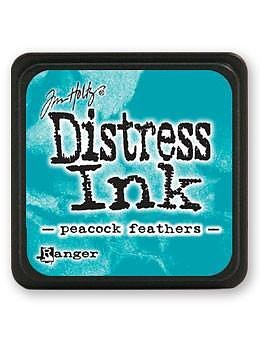 RANGER Tim Holtz Mini Distress  Ink Pad -Peacock Feathers