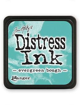 RANGER Tim Holtz Mini Distress  Ink Pad Evergreen Bough