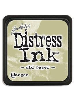 RANGER Tim Holtz Mini Distress  Ink Pad Old Paper