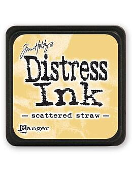 RANGER Tim Holtz Mini Distress  Ink Pad -Scattered Straw