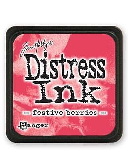 RANGER Tim Holtz Mini Distress  Ink Pad Festive Berries