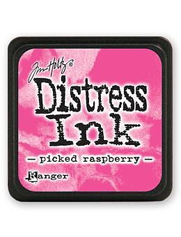 RANGER Tim Holtz Mini Distress  Ink Pad -Picked Raspberry