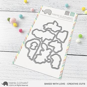 MAMA ELEPHANT-BAKED WITH LOVE CREATIVE CUTS