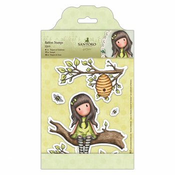 GORJUSS -Rubber Stamps The Little Leaf (7pcs)