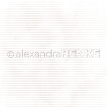 ALEXANDRA RENKE -Designpaper 'Mimi gold stripes'