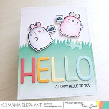 MAMA ELEPHANT-WHIMSY ALPHAS - CREATIVE CUTS