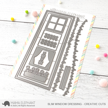 MAMA ELEPHANT-SLIM WINDOW DRESSING - CREATIVE CUTS