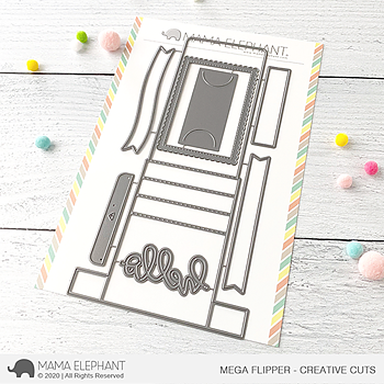 MAMA ELEPHANT-MEGA FLIPPER - CREATIVE CUTS