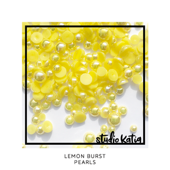 STUDIO KATIA-LEMON BURST PEARLS