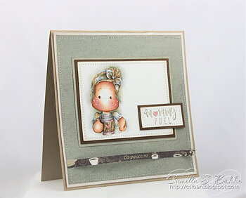 MAGNOLIA -LLL-19 Mommy Fuel Art Stamp Kit