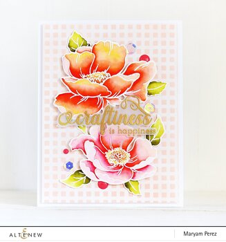 ALTENEW -Crafty Greetings Stamp Set