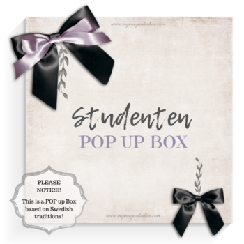 MAGNOLIA POP {Pop Up Box}  Studenten  Finns på lager!