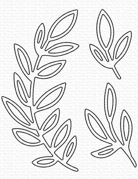 MY FAVORITE THINGS -Grande Greenery - Outline Die-namics