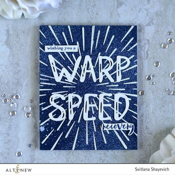 ALTENEW -Warp Speed Stencil