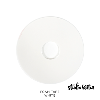 STUDIO KATIA-DOUBLE SIDED FOAM TAPE - WHITE