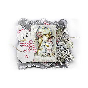 Polkadoodles -Snow Much Fun - Winnie Winter Wishes