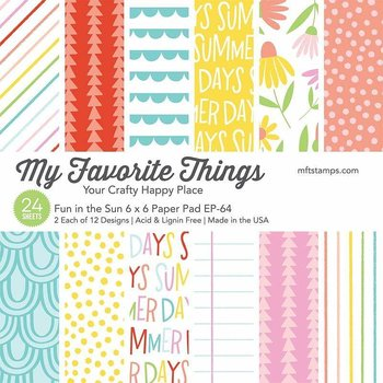 MY FAVORITE THINGS -Fun in the Sun Paper Pad