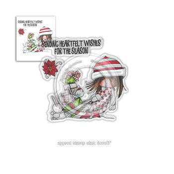 Polkadoodles -Heartfelt Wishes - Winnie Winter Wishes