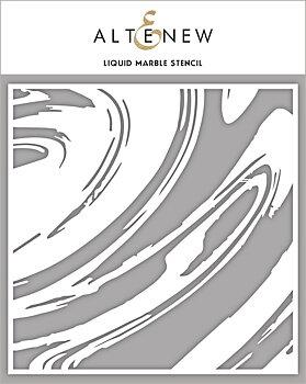 ALTENEW -Liquid Marble Stencil