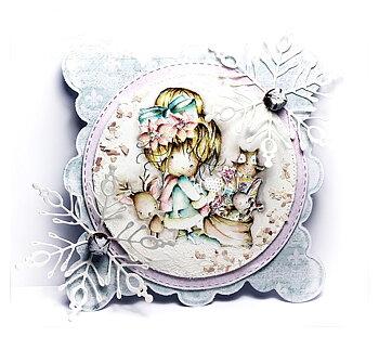 Polkadoodles -Merry & Bright - Winnie Winter Wishes
