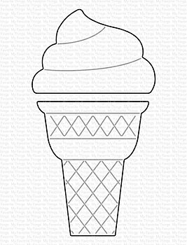 MY FAVORITE THINGS -Ice Cream Cone Die-namics