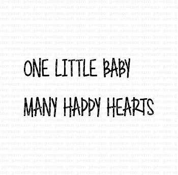 GUMMIAPAN -One little baby many happy hearts
