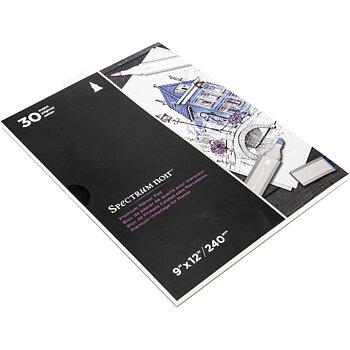 """Spectrum Noir Premium Marker Pad 9""""X12"""" 30 sheets"""