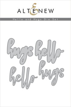 ALTENEW -Hello and Hugs Die Set