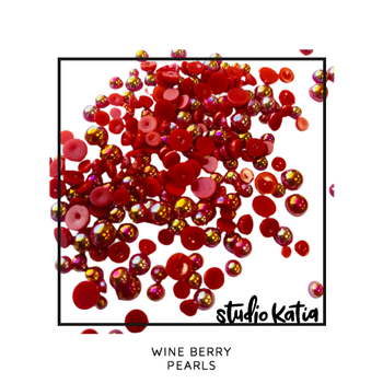 STUDIO KATIA-WINE BERRY PEARLS
