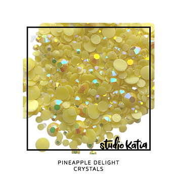 STUDIO KATIA-PINEAPPLE DELIGHT CRYSTALS
