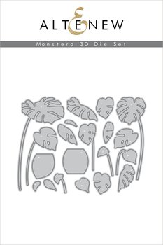 ALTENEW -Monstera 3D Die Set