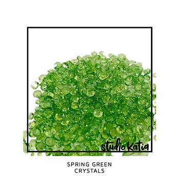 STUDIO KATIA-SPRING GREEN CRYSTALS