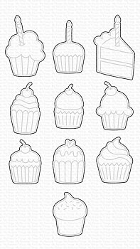 MY FAVORITE THINGS -All the Cupcakes Die-namics