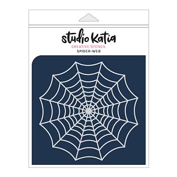 STUDIO KATIA-SPIDER-WEB STENCIL
