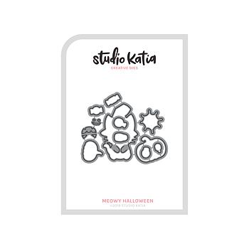 STUDIO KATIA-MEOWY HALLOOWEEN DIES