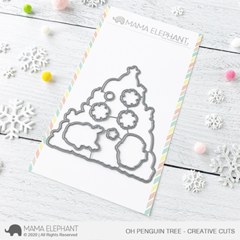 MAMA ELEPHANT-OH PENGUIN TREE - CREATIVE CUTS